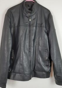 A C Luxury collection Faux leather jacket Size XL